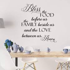 Shop Bless The Food Before Vinyl Wall Decal On Sale Overstock 20201642