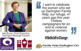 "Darlington Borough Council on Twitter: ""#BeBoldForChange Ada Burns, the  council's Chief Executive.… """