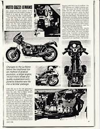 article cycle 1986 march moto guzzi