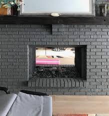 see thru fireplace doors