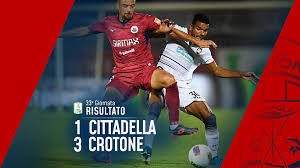 Serie BKT, 33ª giornata: Cittadella-Crotone 1-3