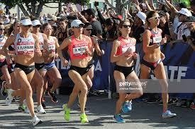 U.S. Shalane Flanagan, Adriana Nelson, Sara Hall and Kara Goucher ...