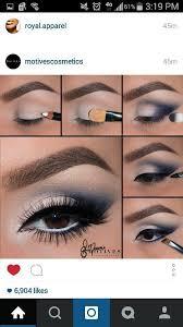 eye makeup for blue prom dress
