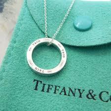 tiffany sterling silver 1837 circle