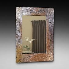 arts and crafts copper mirror copper