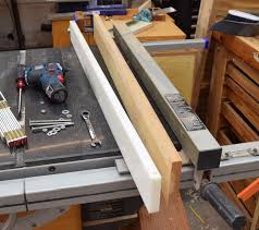 Table Saw Fence Kilted Craft Works