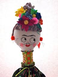 Pin by Juana McDonald on Yo soy Frida Kahlo! | Art dolls cloth, Soft  sculpture art, Soft sculpture