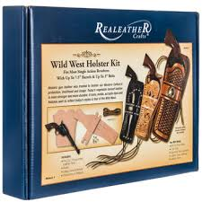 wild west leather holster kit hobby