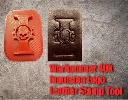 2x warhammer 40k inquisition logo