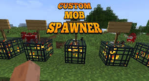 Custom Mob Spawner Mcpe Mod Guide For Android Apk Download