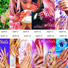 Nail Salon Window Decal Posters 16 Different Styles Fuji Nails Inc