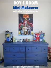 Boy S Room Mini Makeover With Chalk Paint Dresser Boy Room Paint Chalk Paint Dresser Painted Dresser