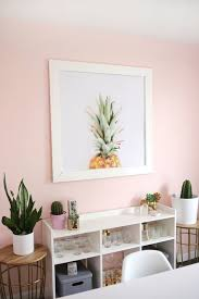 paint colors for pretty blushing walls