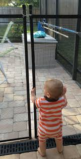 Sentry Safety Pool Fence Visiguard Is The Most See Thru Pool Fence On The Market 5 Tall 10 Long Removable Child Safety Fence Tan Border Walmart Com Walmart Com