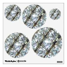 Rhinestones Wall Sticker Zazzle Com