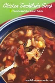 y en enchilada soup meal