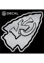 Kansas City Chiefs 6x6 Metallic Decal Kansas City Chiefs Kansas City Nfl Kansas City Chiefs