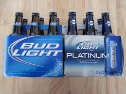 bottom shelf beer bud light platinum