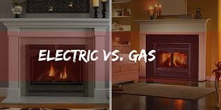 gas fireplaces vs electric fireplaces