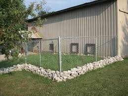 Fenced Dog Play Area Around Barn Diy Dog Fence Dog Play Area Dog Kennel