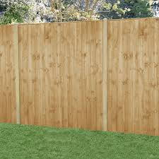 Forest Garden Featheredge Fence Panel 6 X 6