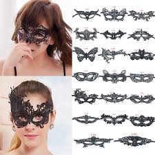 prom party makeup lace eye mask