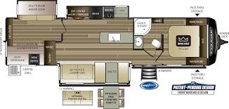 cougar half ton travel trailers 34tsb