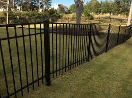 4 Tall Jerith Aluminum Fence In Rivertown Aaa Fence Charleston