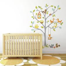 Woodland Fox Friends Tree Giant Wall Decals Roommates Decor