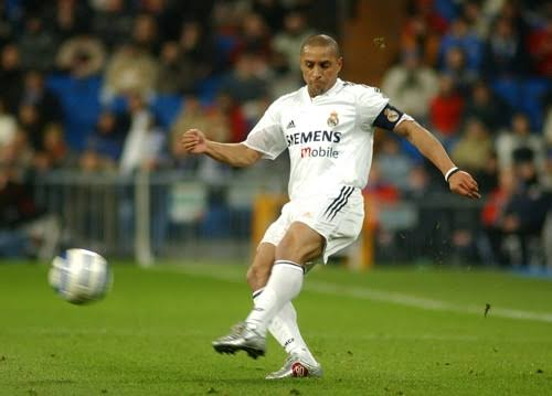 Image result for roberto carlos real madrid""