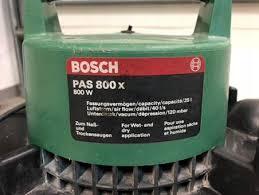 Odkurzacz przemysłowy warsztatowy Bosch PAS 800x - 8072872254 ...