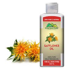 safflower oil on 100 pure