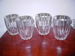 omega double old fashioned glasses