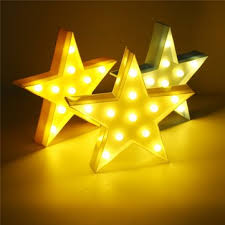 Cute Led Five Pointed Star Night Light For Baby Kids Bedroom Home Decor Sale Banggood Com