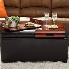 ottomans with trays com