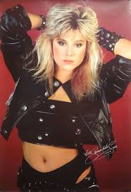 Samantha Fox 27x39 Sexy Black Leather Poster 1988 | Etsy