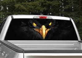 Black Eagle Rear Window Graphic Miller Graphics