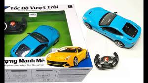Đồ chơi trẻ em | Xe ô tô điều khiển từ xa cho bé | Đồ chơi ô tô cho bé -  YouTube