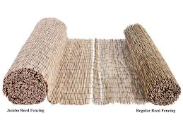 Forever Bamboo Jumbo Reed Bamboo Screen Fence Natural 6 Ft H X 16 Ft L Buy Online In Gambia Forever Bamboo Products In Gambia See Prices Reviews And Free Delivery Over 3 500 D Desertcart