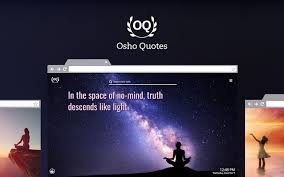 osho quotes hd new tab theme