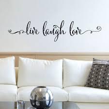 Live Laugh Love Script Wall Quotes Decal Wallquotes Com