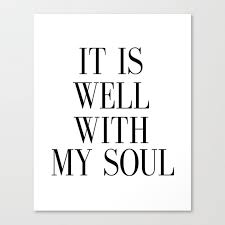 printable art it is well with my soul