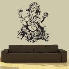 Ganesha Wall Decal Wall Decals Wall Stickers Home Decor Buddha Decor