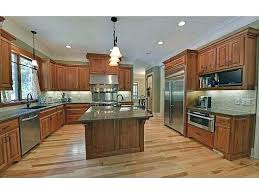 cherry cabinet kitchen ideas lovely