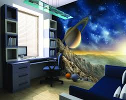 Wonderful Space Theme Room Design For Children Tsp Home Decor