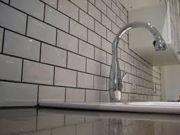 the kitchen backsplash subway tile