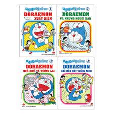 Trọn Bộ Doraemon Đố Vui ( Bộ 4 Tập )