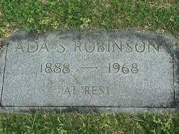 Ada Elizabeth Jane Robinson (Steele) (1888 - 1968) - Genealogy