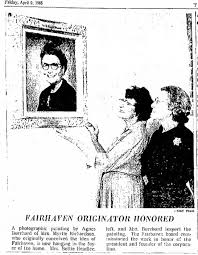 Fairhaven - painting of Myrtle Richardson - Newspapers.com