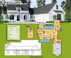 one story farmhouse house plan with